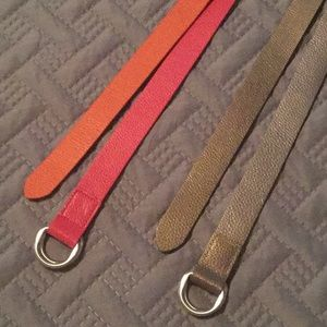 Talbots reversible leather belts (2)